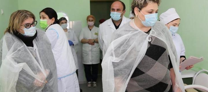 Работа инфекционистов в Хунзахском районе