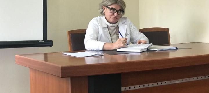 05.03.18, состоялась еженедельная конференция с участием главного врача Мирзаевой Р.М
