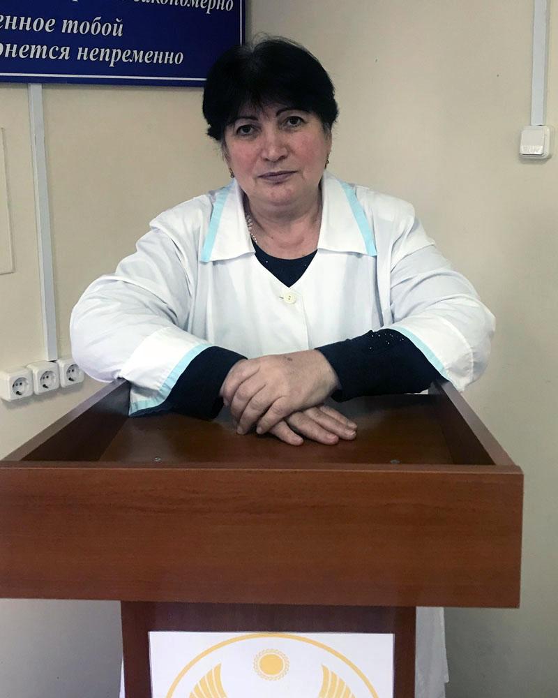 Омариева Рита Магомедовна